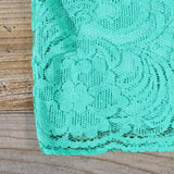 Arizona Lace Dress in Sea: Alternate View #3