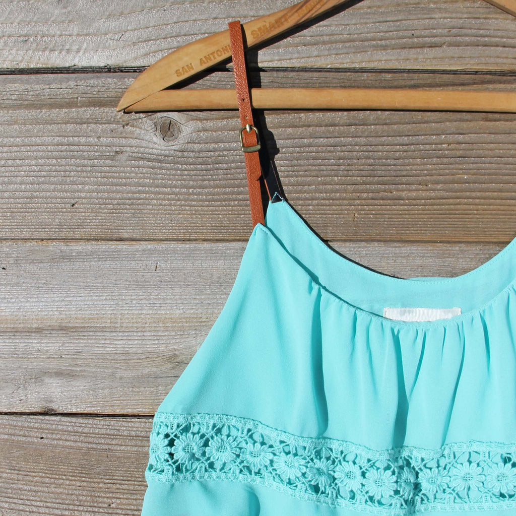 Arizona Summer Dress in Turquoise, Sweet Party & Bridesmaid ...