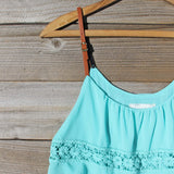 Arizona Summer Dress in Turquoise: Alternate View #2