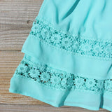 Arizona Summer Dress in Turquoise: Alternate View #3