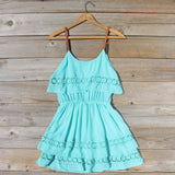 Arizona Summer Dress in Turquoise: Alternate View #4