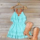 Arizona Summer Dress in Turquoise: Alternate View #5