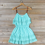 Arizona Summer Dress in Turquoise: Alternate View #1