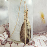 Arrow & Fletch Necklace: Alternate View #1