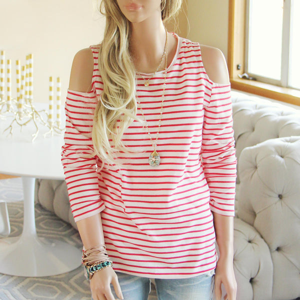 Arrow Stripe Tee: Featured Product Image