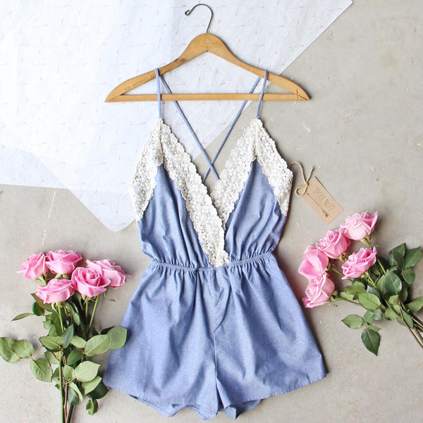 Arrow & Thorn Romper: Featured Product Image