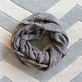 Ash & Smoke Scarf in Taupe: Alternate View #2