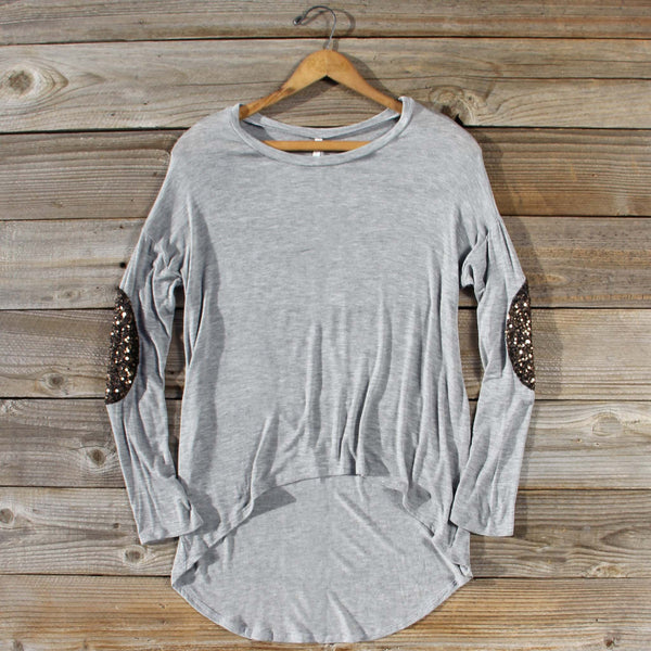 Ashter Sequin Tee: Featured Product Image