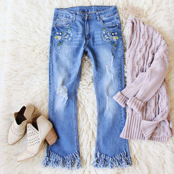 Aspen Fringe Jeans: Featured Product Image