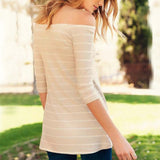 Aspen Knit Cozy Tee: Alternate View #3