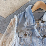 Astoria Distressed Vest: Alternate View #2