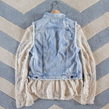 Astoria Distressed Vest: Alternate View #4
