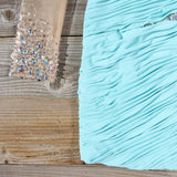 Spool Couture Athena Dress in Mint: Alternate View #3