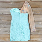 Spool Couture Athena Dress in Mint: Alternate View #4