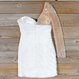 Spool Couture Athena Dress in White: Alternate View #4