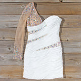 Spool Couture Athena Dress in White: Alternate View #1