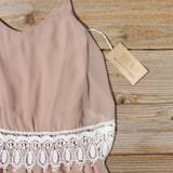 Sienna Lace Romper: Alternate View #3