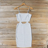 August Stripe Dress: Alternate View #1