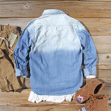 Autumn Denim Top: Alternate View #3