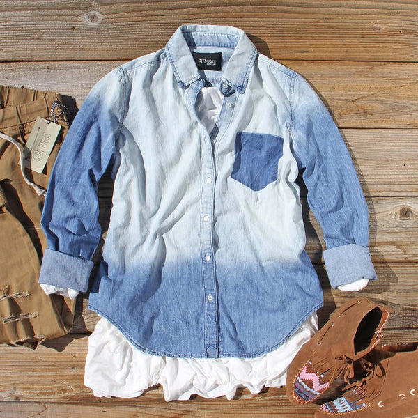 Autumn Denim Top: Featured Product Image