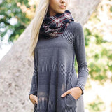 Autumn Dust Dress in Gray: Alternate View #2