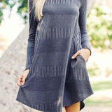 Autumn Dust Dress in Gray: Alternate View #3