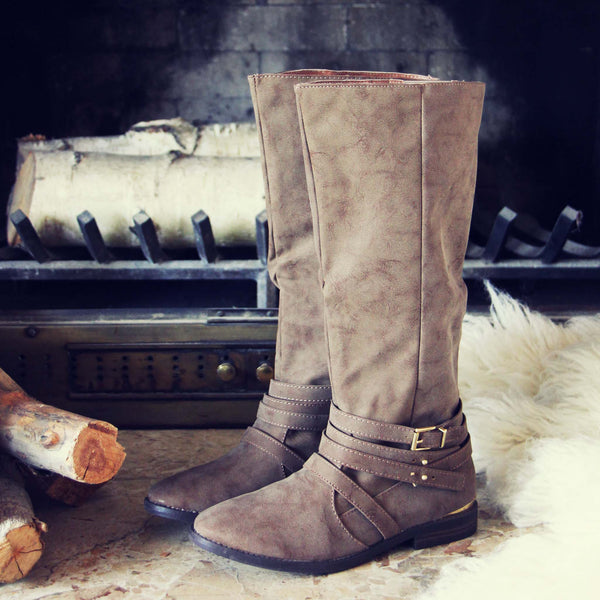 Autumn Frost Boots in Sand: Featured Product Image