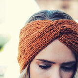 Autumn Frost Headwrap: Alternate View #2