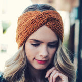 Autumn Frost Headwrap: Alternate View #1