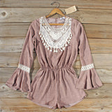 Autumn Heiress Romper: Alternate View #1
