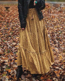 Autumn Wild Maxi Skirt: Alternate View #5