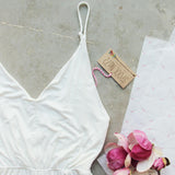 White Avalon Romper: Alternate View #2