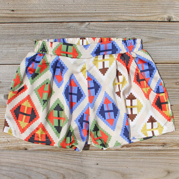 Aztec Hills Shorts: Featured Product Image