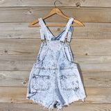 Backroads Distressed Overalls: Alternate View #4