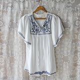 Bailey Embroidered Tunic: Alternate View #1