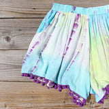 Beach Gypsy Shorts in Mint: Alternate View #2