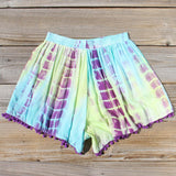 Beach Gypsy Shorts in Mint: Alternate View #3