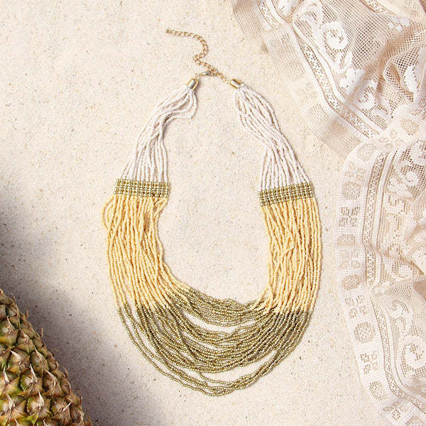 Beaded Sands Necklace: Featured Product Image