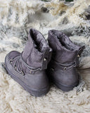Bear Cabin Cozy Boots in Gray: Alternate View #3