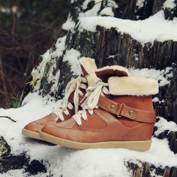 Ski Patrol Cozy Booties: Featured Product Image