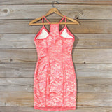 Beloved Lace Dress in Coral: Alternate View #4