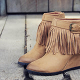 Big Sky Fringe Booties: Alternate View #2