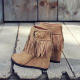 Big Sky Fringe Booties: Alternate View #3