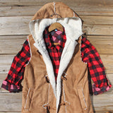 Big Timber Cozy Vest: Alternate View #2