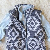 Birch Smoke Cozy Vest: Alternate View #2