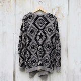 Black Pine Sweater: Alternate View #4
