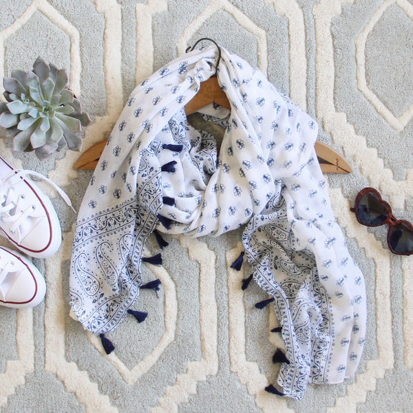 Block Print Scarf: Featured Product Image
