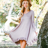 Bluff Hills Ruffle Dress: Alternate View #1