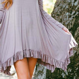 Bluff Hills Ruffle Dress: Alternate View #2