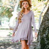 Bluff Hills Ruffle Dress: Alternate View #3